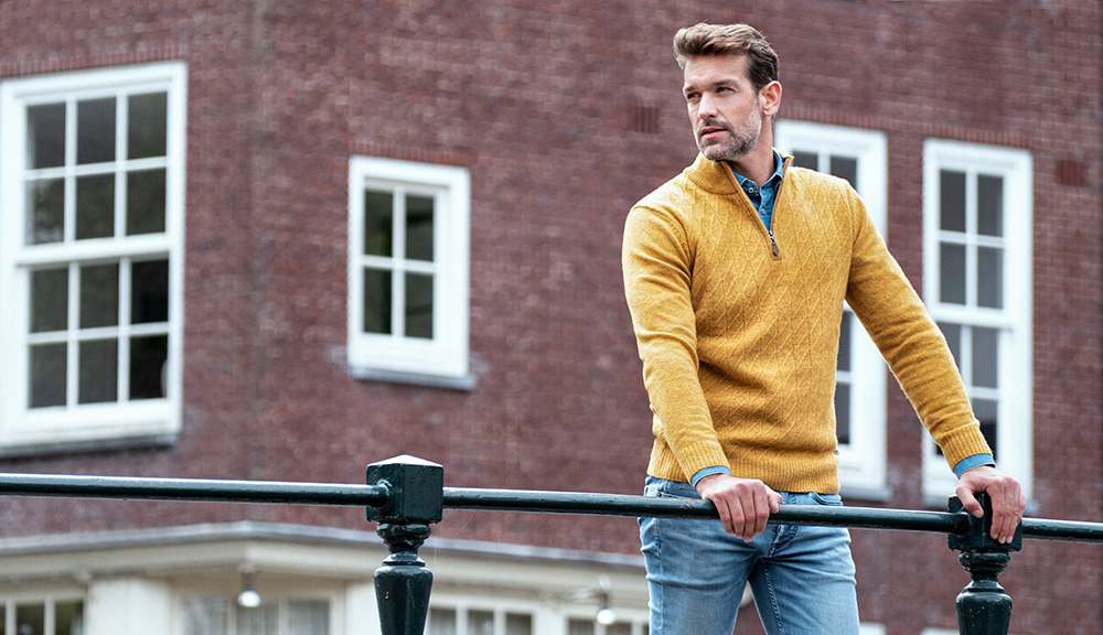 Mens Autumn Knitwear from Baileys