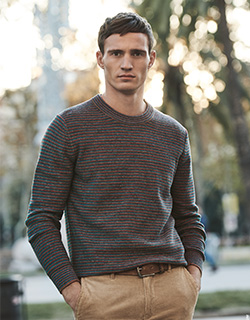 Mens Olymp Crew Neck Jumper