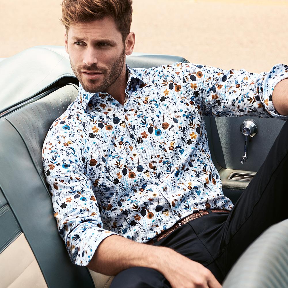 Mens Casual Summer Shirt